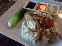 Hainanese Chicken Rice Boneless - P250