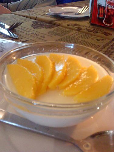 Mango Pannacotta - P95