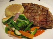 Medium rare Ribeye Steak - P1, 100