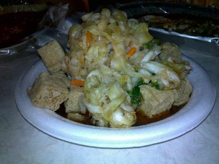 Stinky tofu 臭豆腐