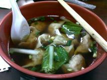 Dinner! Dumplings :)