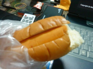 Cheesedog sandwich!