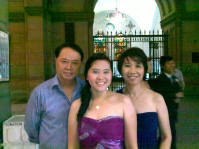 With ze parents