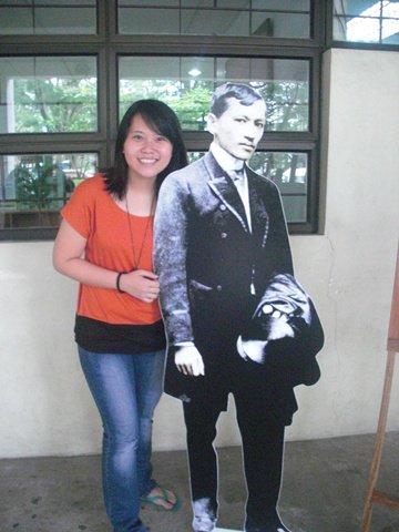 Celebrating Jose Rizal's 150th year or something like that
