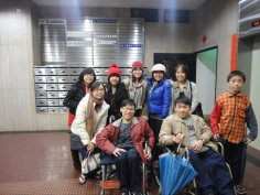 Before heading out to the night market (with all the Taiwan cousins!!!)