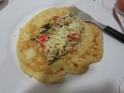 Pfannkuchen mit Gemüse (pancake with vegetables)