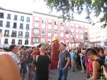 Plaza Tirso de Molina, live!