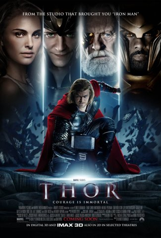 Thor -- July 31 (on the plane ride to Amsterdam)