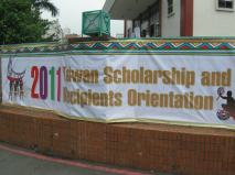 Banner! (Photo from: Cheryl Ang)