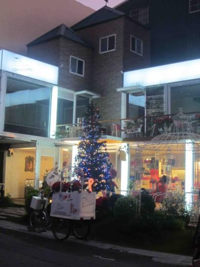 First Christmas tree sighting in Taiwan