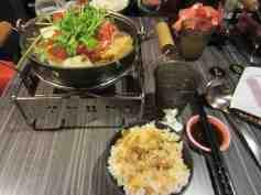 Hotpot dinner