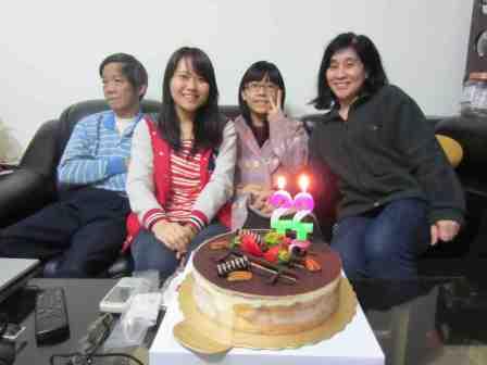 My family in Taiwan (minus Richelle)