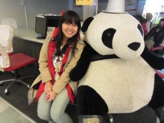 At Taoyuan International Airport