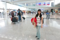 Picture at the Hong Kong International Airport