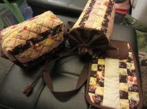 Stuff my friend Merry sewed herself! So cool!