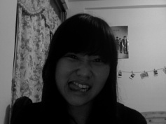 On the night that my bangs were still cooperating